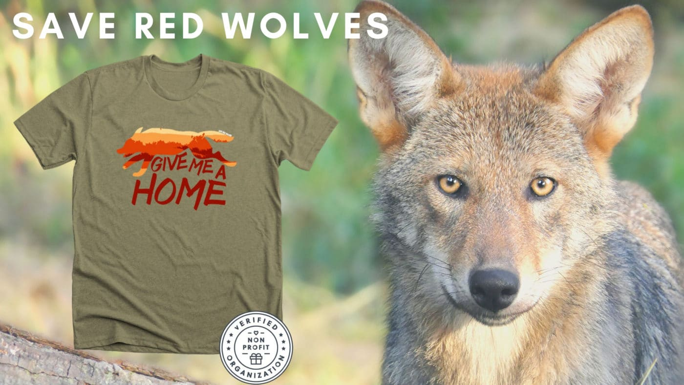 New Limited Red Wolf Apparel