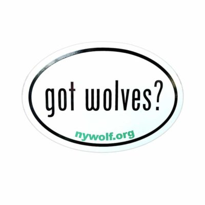 Got Wolves Sticker Web