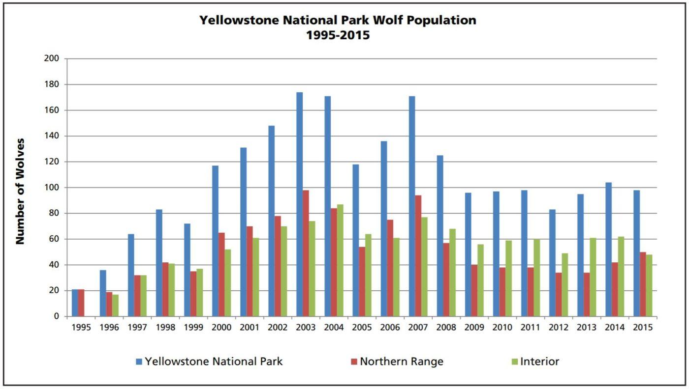 YMP Wolf Population